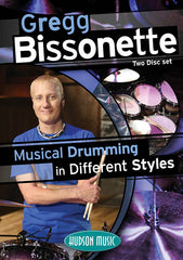 Gregg Bissonette DVD - Musical Drumming in Different Styles