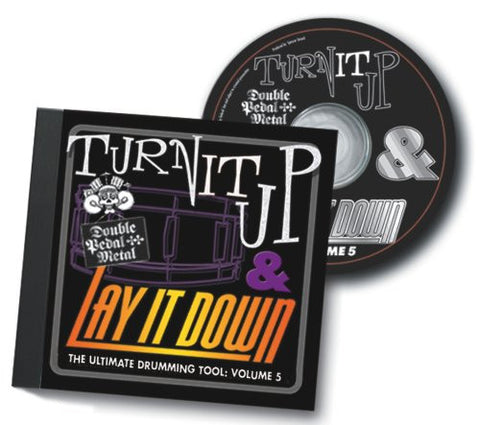 Turn It Up Lay It Down Volume 5 - Play Along CD For Drummers