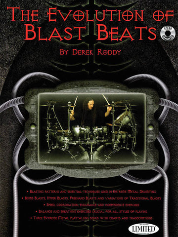 Derek Roddy The Evolution of Blast Beats Book/CD