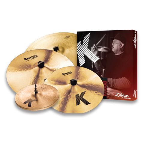 "Zildjian K0800 K Series Cymbal Box Set with Free 18"" Crash"