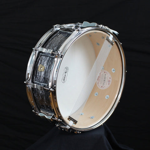 Ludwig Classic Maple Snare Shell Vintage Black Oyster