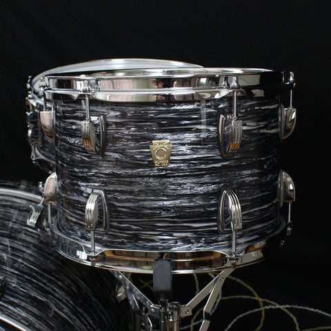 Ludwig Classic Maple 8x12 Tom Vintage Black Oyster