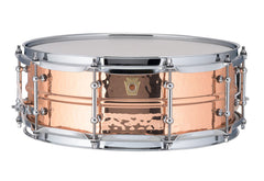Ludwig Copper-Phonic Hammered Polish Snare with Tube Lugs