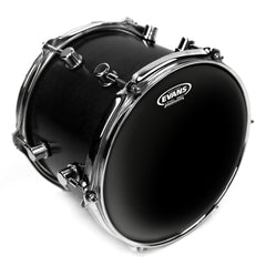 Evans Black Chrome 2-Ply Drumhead