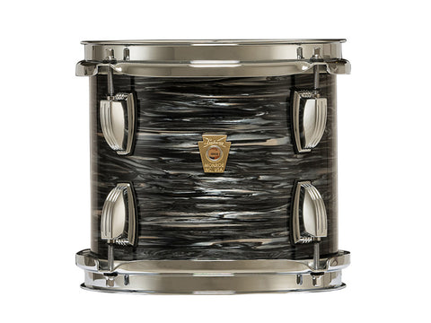 Ludwig Classic Maple 7x8 Tom Vintage Black Oyster Pearl w/ ATLAS Mount