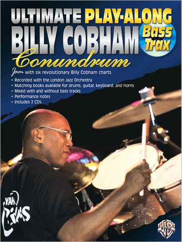Billy Cobham Ultimate Play-Along Book/2-Cds