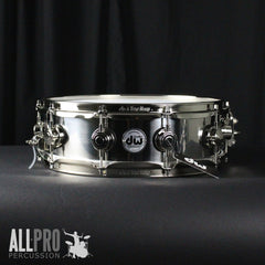 DW 14x5.5 Stainless Steel Snare Drum