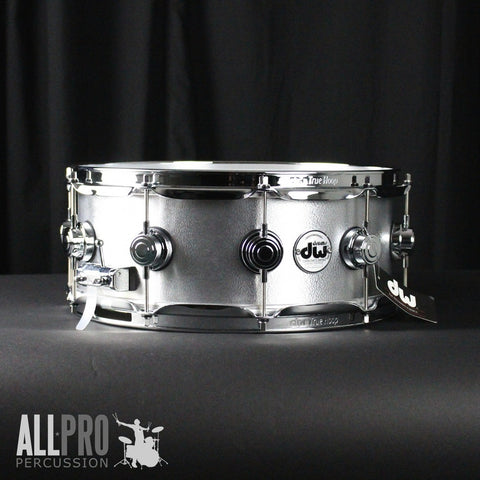 DW 14 x 5.5 Collector's Series Aluminum Snare With Chrome Hardware