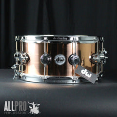 DW 14x6.5 Copper Snare Drum