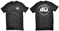 DW Black Tee Shirt with Corporate Logo