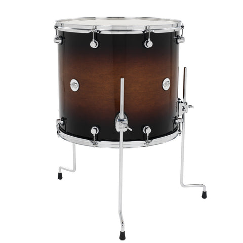 DW Design Series 16x18 Tobacco Burst Floor Tom