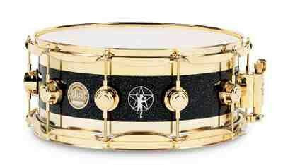 DW 14 x 6.5 R30 Starman Edge Snare Drum w/ Gold Hardware