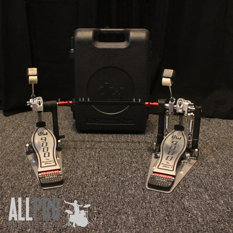 DW 9002 Double Pedal W/ Hard Case - Used