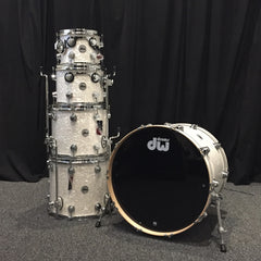 DW Collector's Series Maple Drum Set 22/10/12/14/16 - Ultra White Marine (SSC)