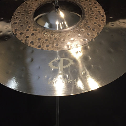"Paiste 20"" Signature Duo Ride - Vir2osity - Carl Palmer Signature Ride"