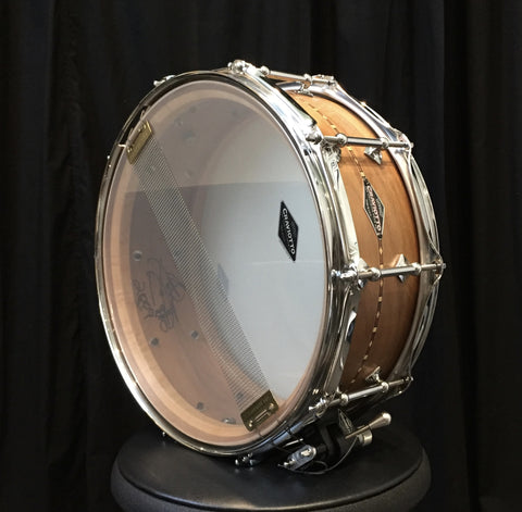 Craviotto Solid Shell Walnut Snare Drum