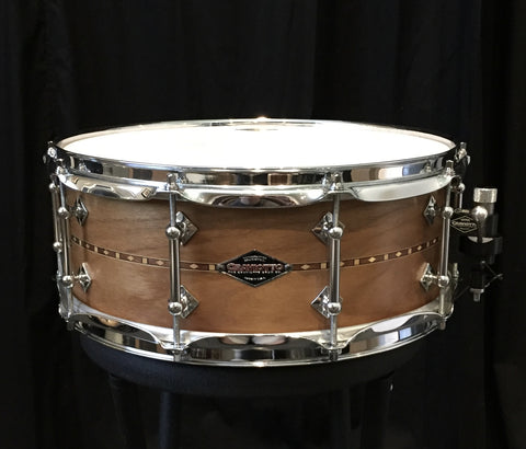 Craviotto 14x5.5 Solid Shell Walnut Snare Drum