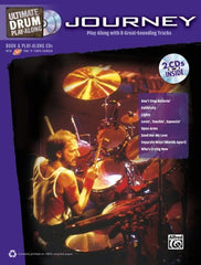Journey Drum Play-Along Book/Cd