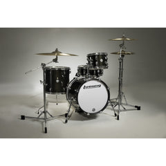 ludwig breakbeats 4pc drum set black sparkle - questlove