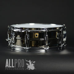Ludwig Black Beauty Smooth Brass Shell Snare Drum
