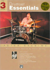 Drumset Essentials,Vol 3 Book/Cd