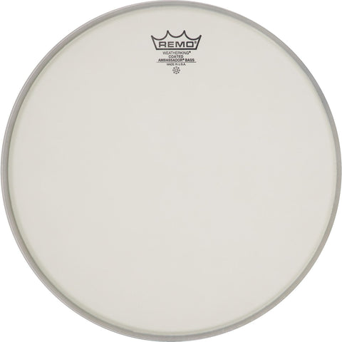Remo Ambassador Coated Bass Drumhead