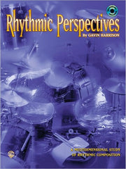 Gavin Harrison Rhythmic Perspectives Book/Cd