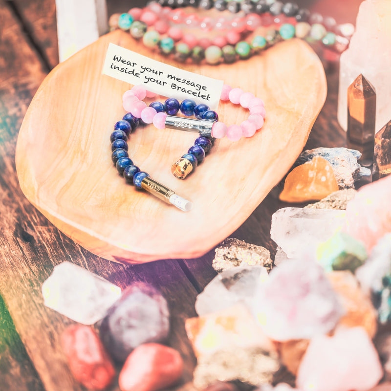 Manifest Your Mission with MantraBeads Intention Bracelets