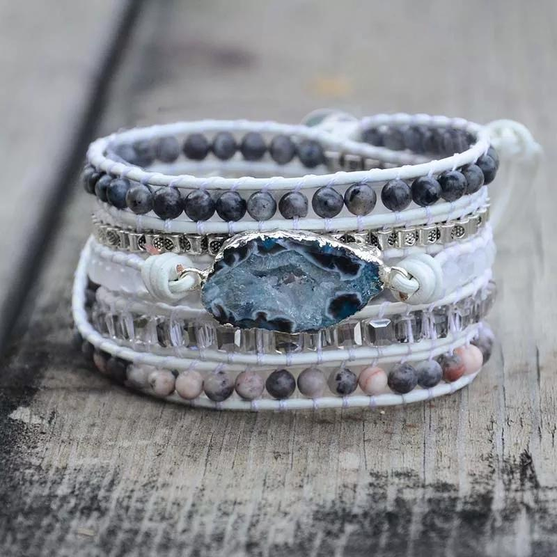 Smoke & Mirrors Wrap Bracelet