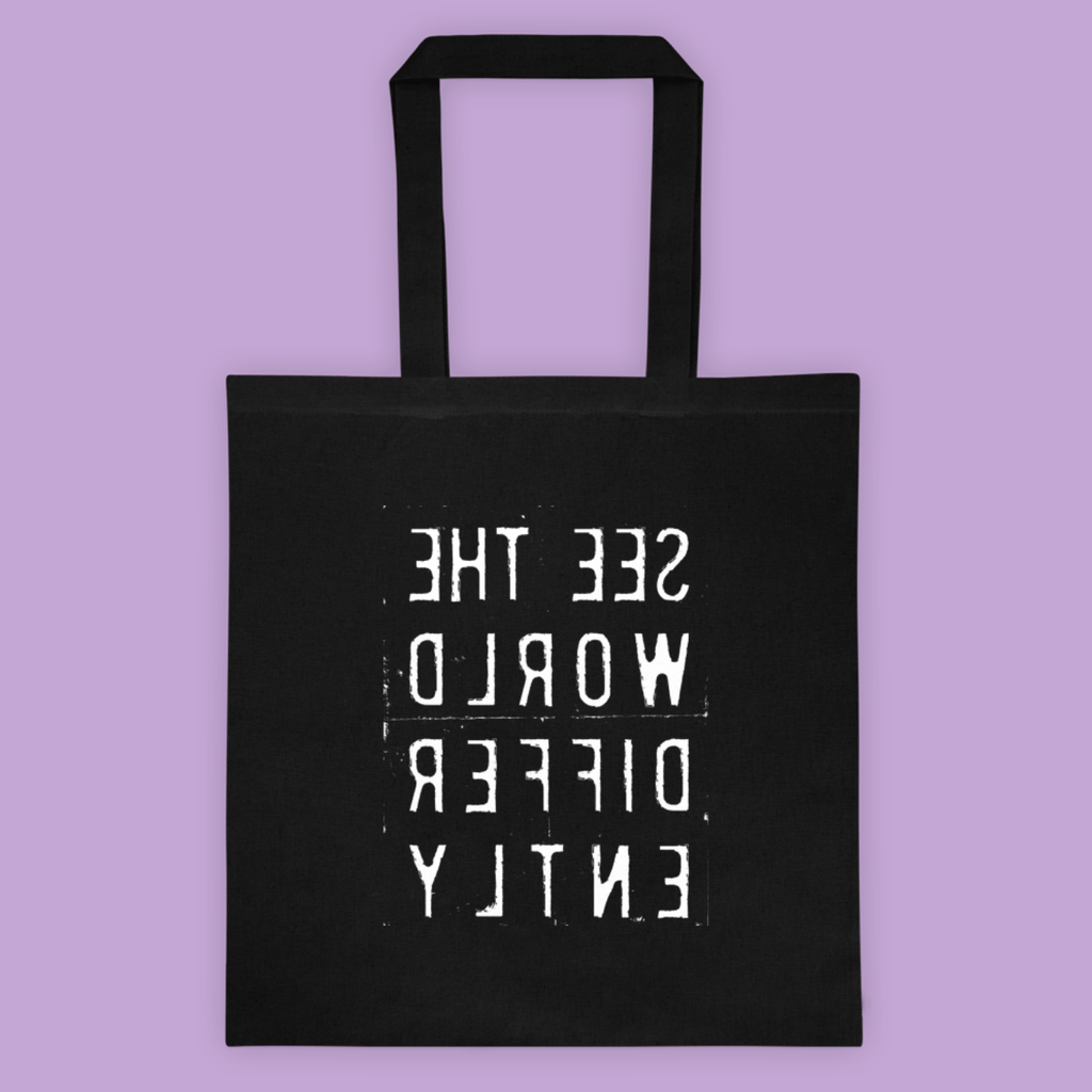 See The Word <br>Differently <br>Canvas Tote