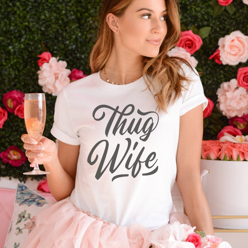 Thug Wife<br> Graphic Tee