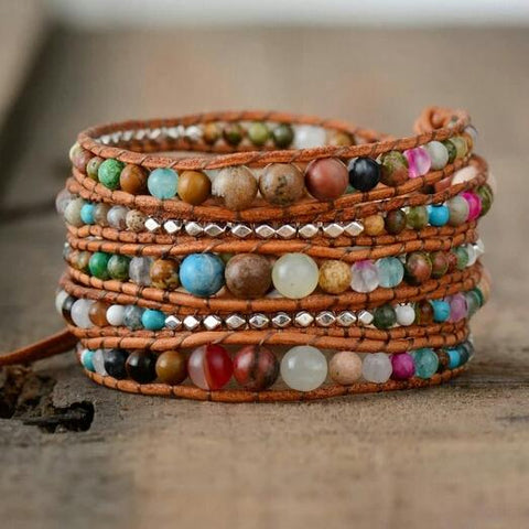 Good Vibrations<br> Wrap Bracelet