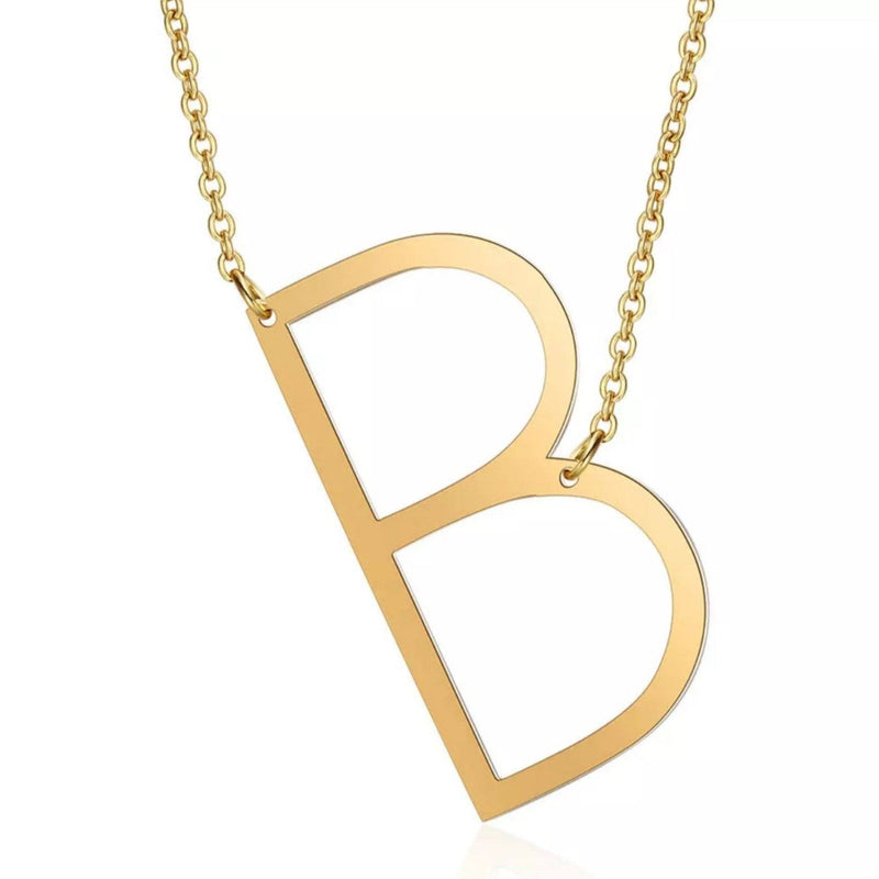 Initial Here<br> Pendant Necklace