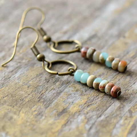 Santa Fe Turquoise Drop Earrings