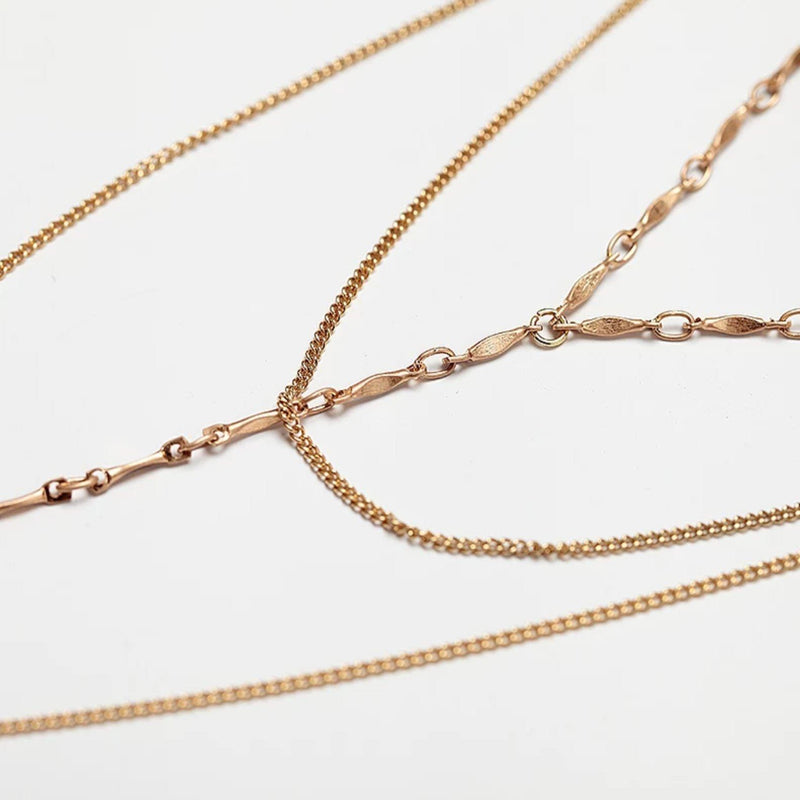 Gold Layer Chain Necklace