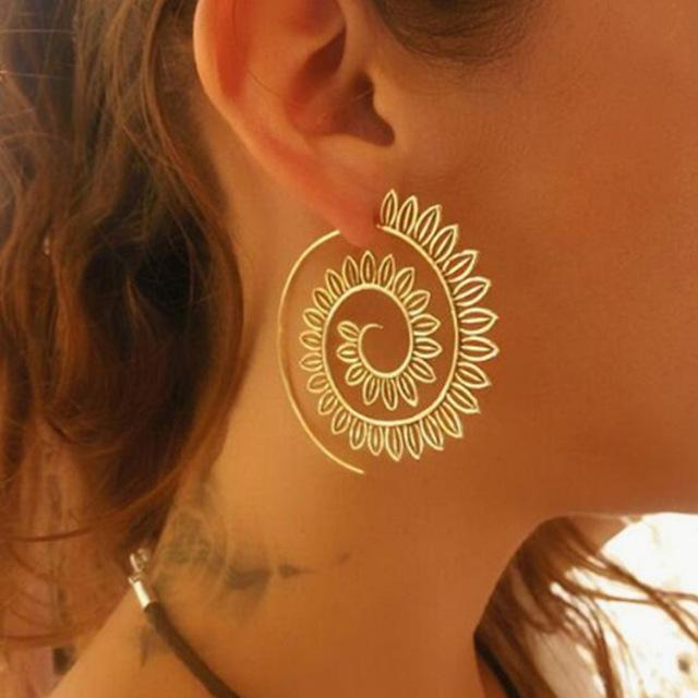 Gypsy Swirl Threader Earrings