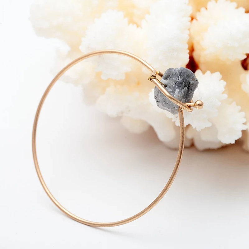 Raw Energy<br> Quartz Bangle