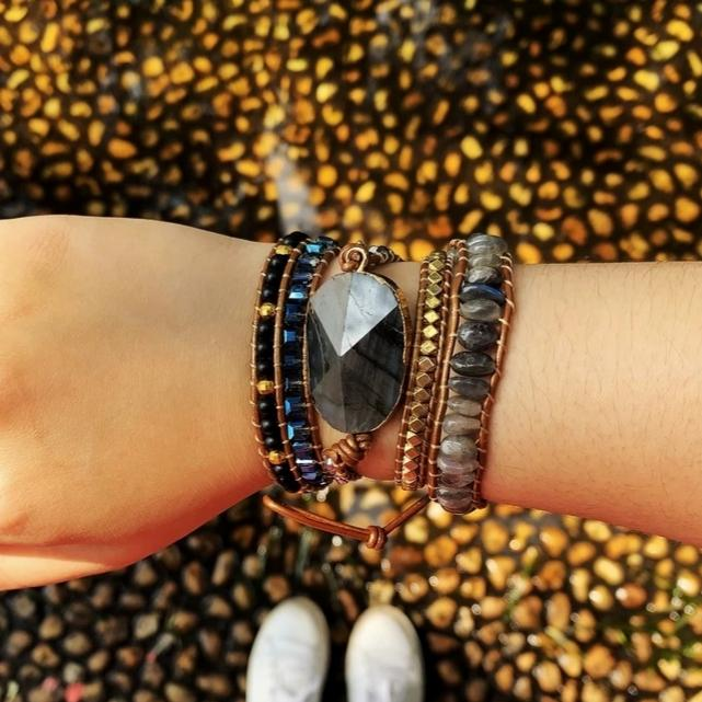 Starry Night<br> Wrap Bracelet