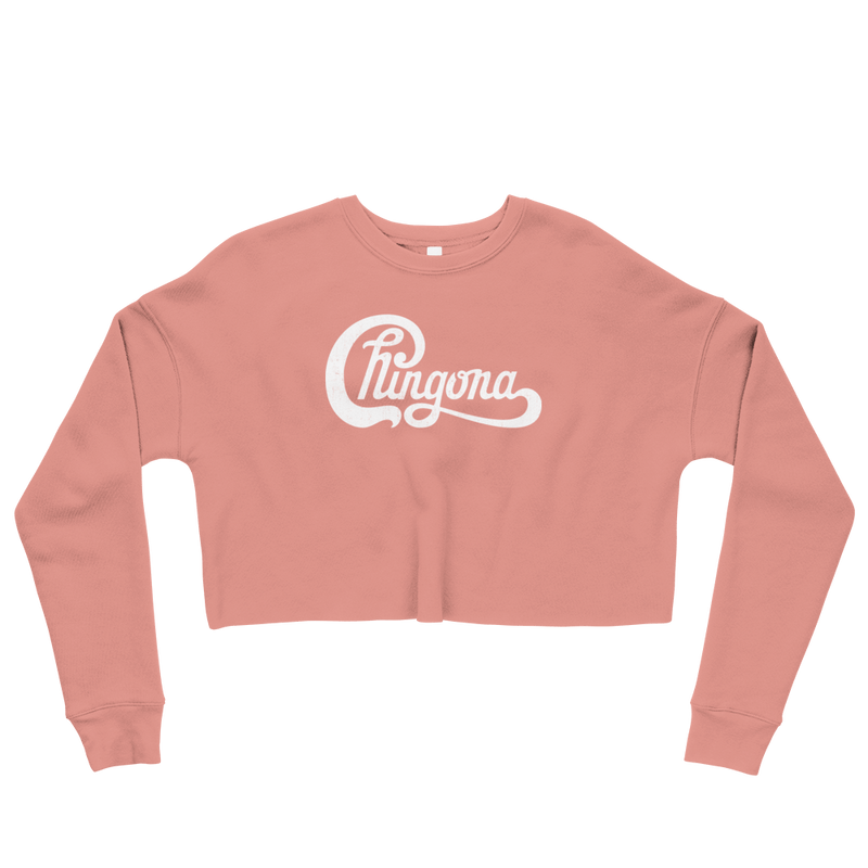 Chingona<br> Cropped Sweatshirt