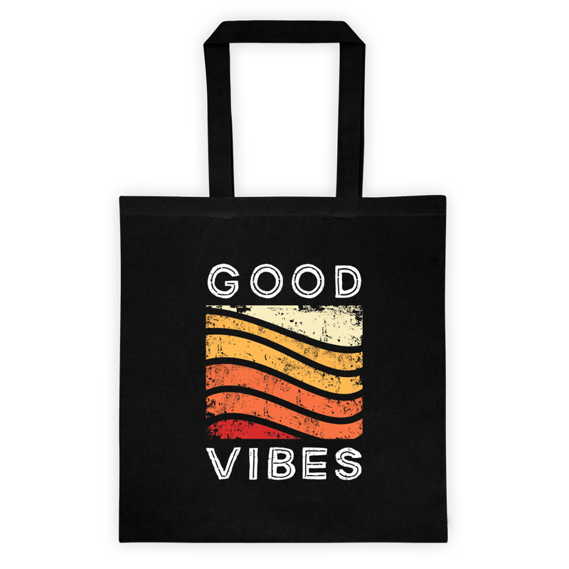 Good Vibes <br> Canvas Tote
