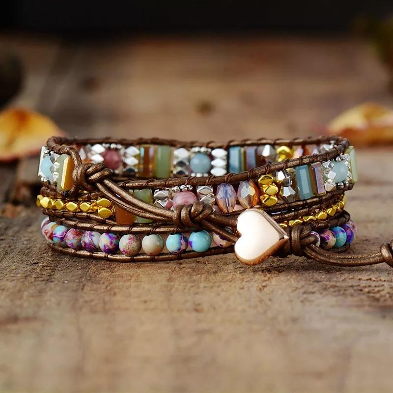 Rose Revival Wrap Bracelet