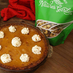 Thanksgiving Dessert - Gluten Free Pumpkin Pie - Nature's Garden