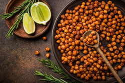 How to Make Your Own Roasted, Flavored Chickpeas - Nature's Garden