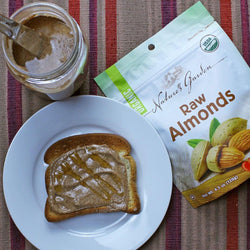 You should consider this delicious cinnamon almond butter recipe for your breakfasts. this almond butter is organic and tasty.