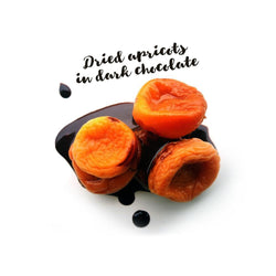 Organic Dried Fruits with Chocolate Sauce - Nature's Garden