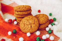 Healthy Treat for Christmas: Gingersnap Cookie - Nature's Garden