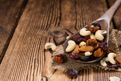 Trail mixes have been eaten since the beginning of time. You can call gorp as a general term for trail mix.