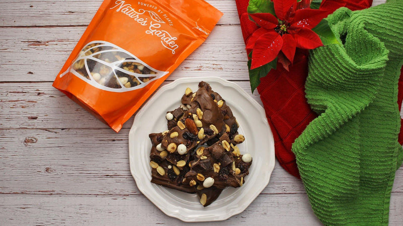 Christmas Recipe - Rocky Road Chocolate Bark from Nature's Garden - Nature's Garden