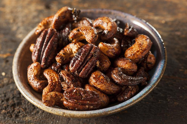 Spiced Christmas Nuts - Nature's Garden