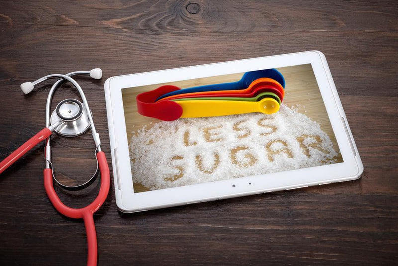 Consumption of sugar added products like candy, dessert, etc. can cause obesity, diabetes, and high blood sugar level.